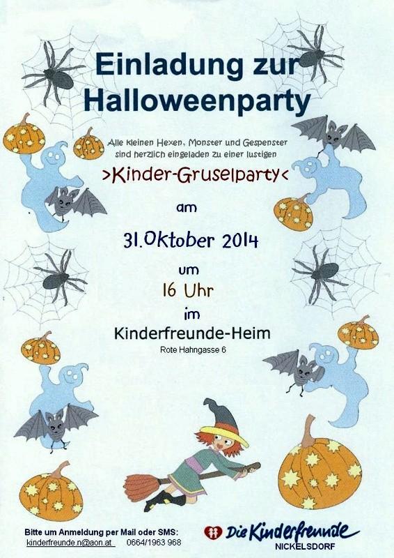Frisch Text Einladung Kindergeburtstag Halloween Holen Sie Sich